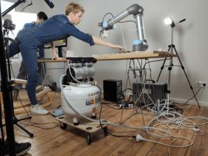 Caroline Hoegsbro Prototypenbau 3D Robotik